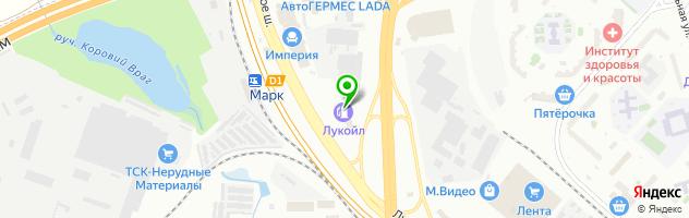 Банкомат Банк Петрокоммерц — схема проезда на карте