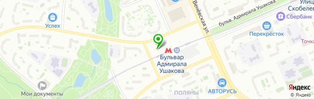 Тату-салон Мастер Хауз — схема проезда на карте