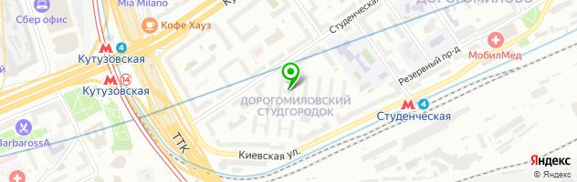 ЧистоFF — схема проезда на карте