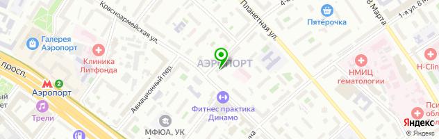 Сервисный центр Айджи — схема проезда на карте