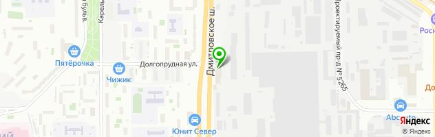 Торгово-сервисная компания Командор-копирс — схема проезда на карте