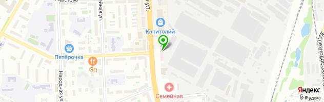 Медицинский центр Полимед — схема проезда на карте
