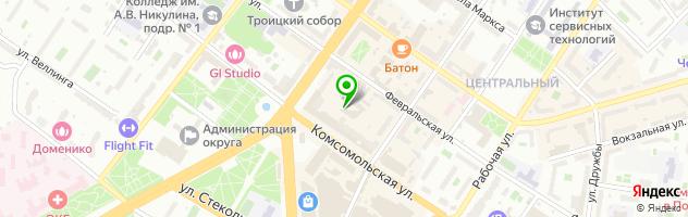 Учебный центр РУСИЧЪ — схема проезда на карте