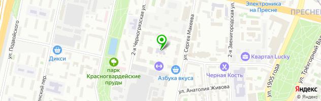Детский развивающий центр Горница-Узорница — схема проезда на карте