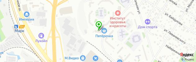 Заправим-все.ру — схема проезда на карте