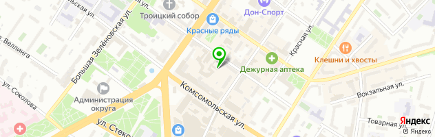 Торгово-сервисный центр OS Comp — схема проезда на карте