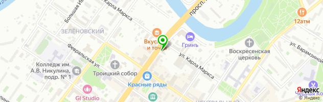 Ах!..маникюрная Подольск — схема проезда на карте