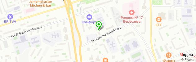"""Салон красоты """"Яблоко"""" — схема проезда на карте"""