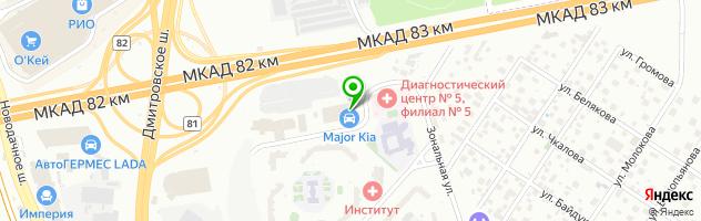 Автосалоны свао москвы на карте автосалон тойота ленд крузер в москве