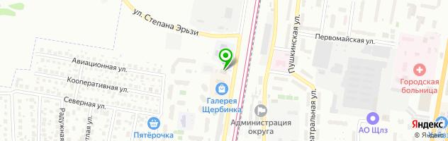 """Фитнес-клуб """"ВОЛЕНС"""" — схема проезда на карте"""