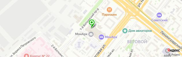 Багетный салон Baguette Hall — схема проезда на карте