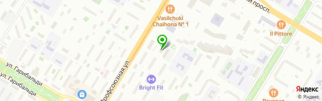 Ремор*М — схема проезда на карте