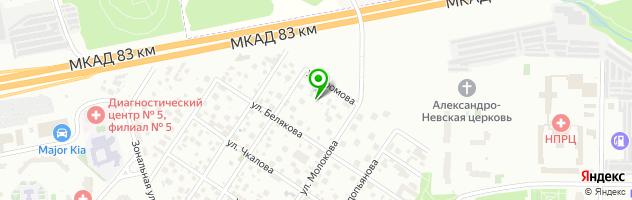 """Центр дневного пребывания детей """"КЛИВИЯ"""" Лианозово — схема проезда на карте"""