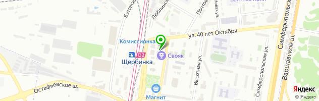 Бильярдный клуб Свояк — схема проезда на карте
