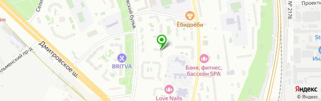 Автошкола ПрофессионалЪ — схема проезда на карте