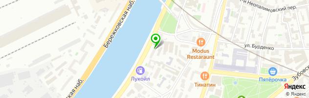 Мастерская бытовых услуг Fullservice — схема проезда на карте