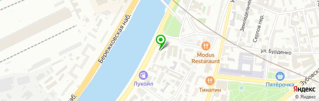 Салон бытовых услуг FullService — схема проезда на карте