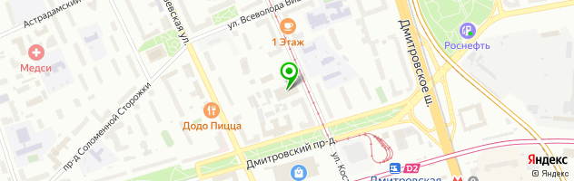 Автосервис — схема проезда на карте