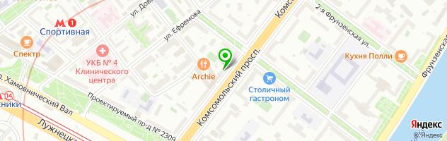 Сервисное предприятие Контакт — схема проезда на карте