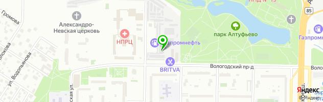 Автокомплекс Лиан Моторс — схема проезда на карте