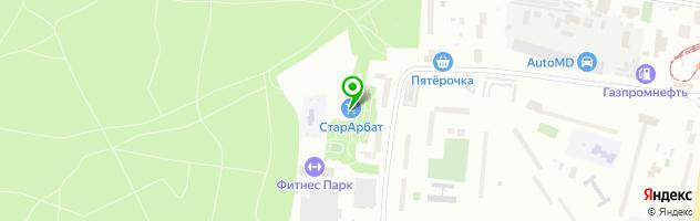 """Антикафе  """"КлубОК"""" — схема проезда на карте"""