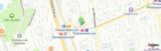 Фото на документы — схема проезда на карте