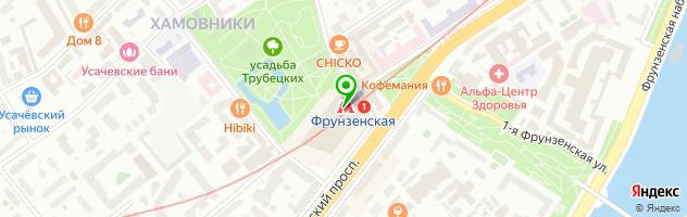 Мастерская по ремонту ювелирных изделий на Комсомольском проспекте 28 — схема проезда на карте