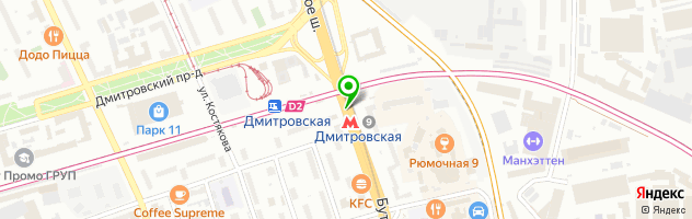 "Типография ""БорПринт"" — схема проезда на карте"