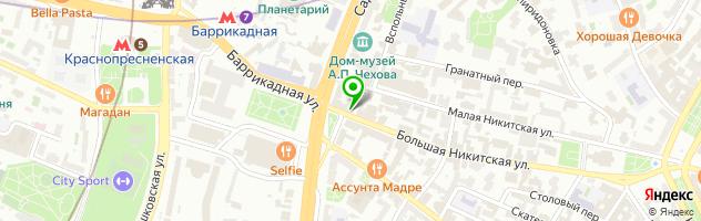 Ресторан-караоке  VINTAЖ77 — схема проезда на карте