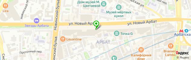 Дом Быта Престиж — схема проезда на карте