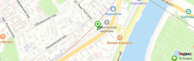 Ресторан Беби Джоли — схема проезда на карте