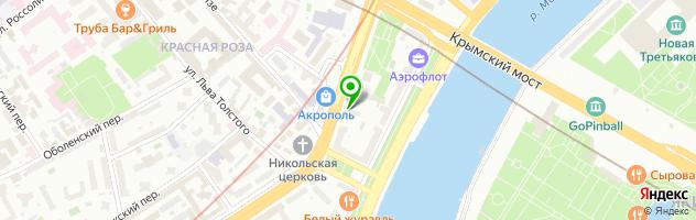 Парикмахерская №3 — схема проезда на карте