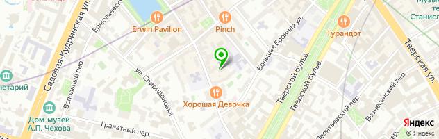 Салон эпиляции Wax & Go — схема проезда на карте