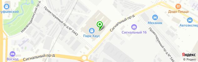 Дом Быта.com — схема проезда на карте