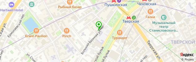 Ателье Елены Брежневой — схема проезда на карте