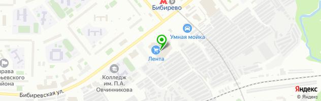 Азбука Фото (Бибиревская) — схема проезда на карте