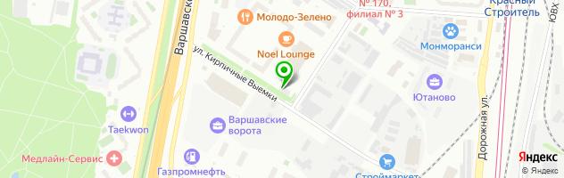 ООО ЮТУС-М — схема проезда на карте