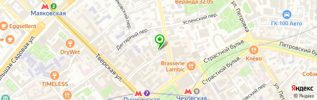 Ресторан Funny Cabany — схема проезда на карте
