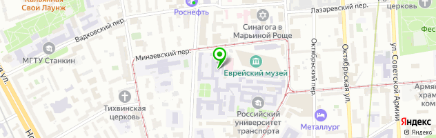 Правовой колледж МИИТ — схема проезда на карте