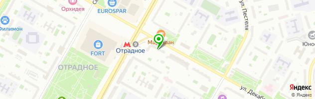 Центр красоты и здоровья Veronika Herba — схема проезда на карте