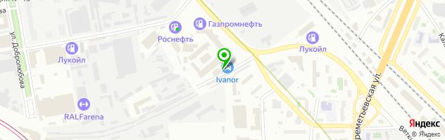 Vianor — схема проезда на карте