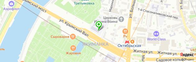Багетная мастерская ИнтерКвадрум — схема проезда на карте