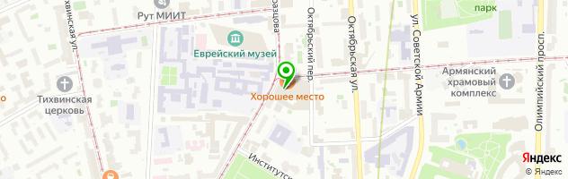 Торгово-технический центр Стампа — схема проезда на карте