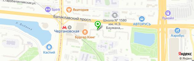 Стоматологический центр Московский доктор — схема проезда на карте