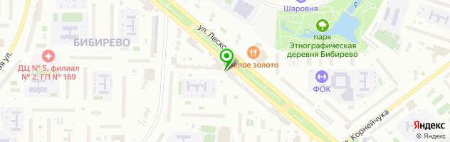 """Антикафе """"Дерево встреч"""" — схема проезда на карте"""