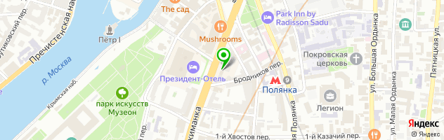 Сервисный центр Омега — схема проезда на карте