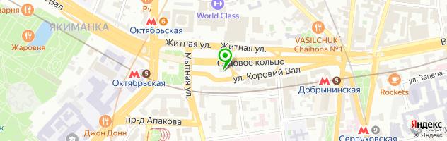 Старлайт — схема проезда на карте