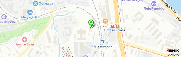 Ремонт кофемашин BORK — схема проезда на карте