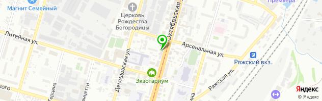 "Ресторан ""Компания"" — схема проезда на карте"
