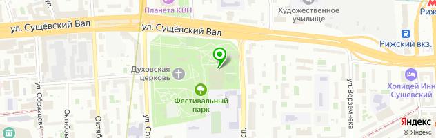 Фитнес-клуб Новая лига — схема проезда на карте